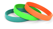 Custom Color Wristbands