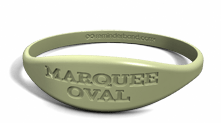 Debossed Marquee Oval