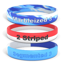Multi-Color Wristbands