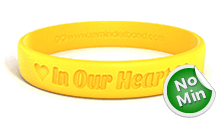 Classic Custom Silicone Wristbands
