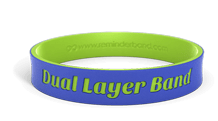 Dual Layer Wristbands