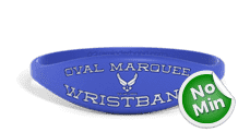 Oval Personalized Wristband