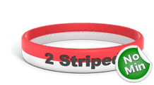 2 Stripes Wristband