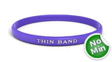Thin Custom Wristbands